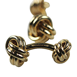 Tiffany & Co. Love Knot Cufflinks