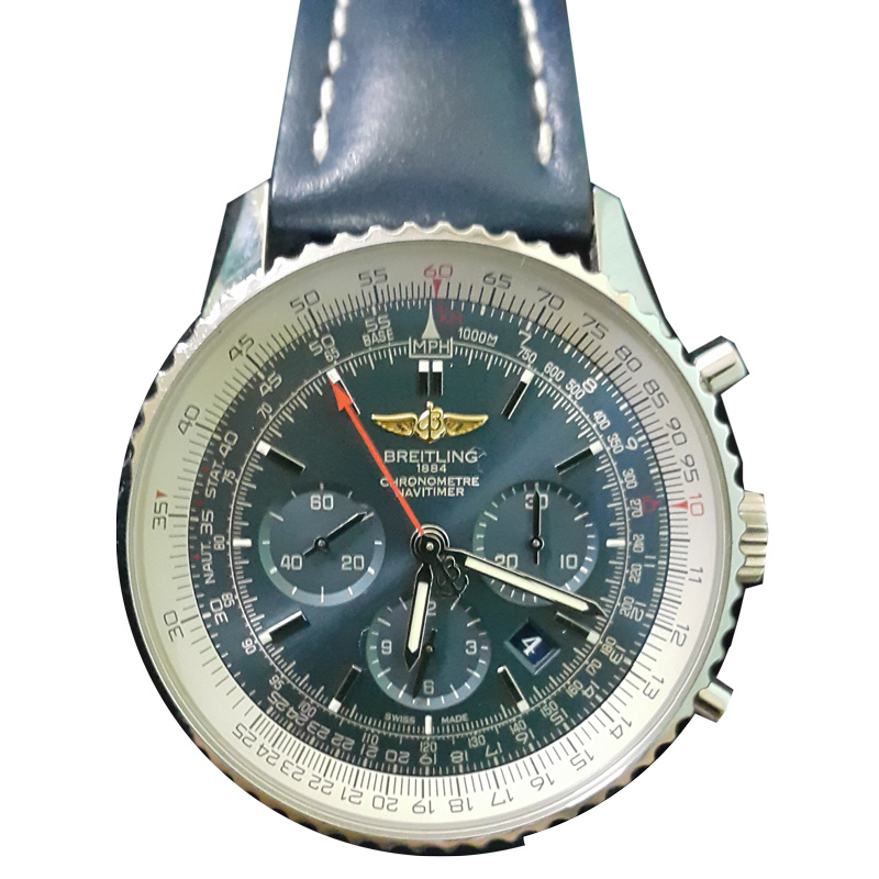 "Image of ""Breitling Navitimer 01 Ab0271 Stainless Steel Men's Watch"""
