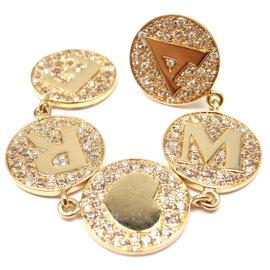 Pasquale Bruni 18K Yellow Gold Dangle Diamond Earring