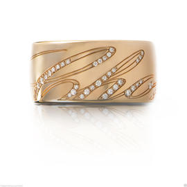 Chopard 18K Rose Gold Chopardissimo Ring