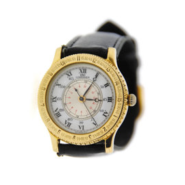 Longines Lindbergh Hour Angel 18K Yellow Gold Mens Watch