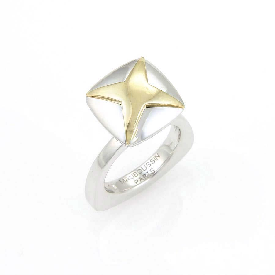 "Image of ""Mauboussin 18K Two Tone Gold Star Ring"""