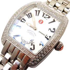 Michele Urban Mini MW02A01A2001 Stainless Steel 0.65Ct Diamond Watch
