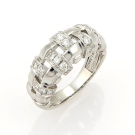 Tiffany & Co. Diamonds Open Basket Weave Ring