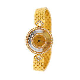 Chopard Happy Diamonds 20/3957 18K Yellow Gold Watch