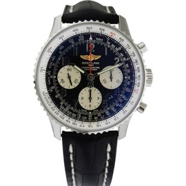 Breitling ab012012/bb02 Navitimer 01 Chronograph Black Dial 43mm Men's Watch