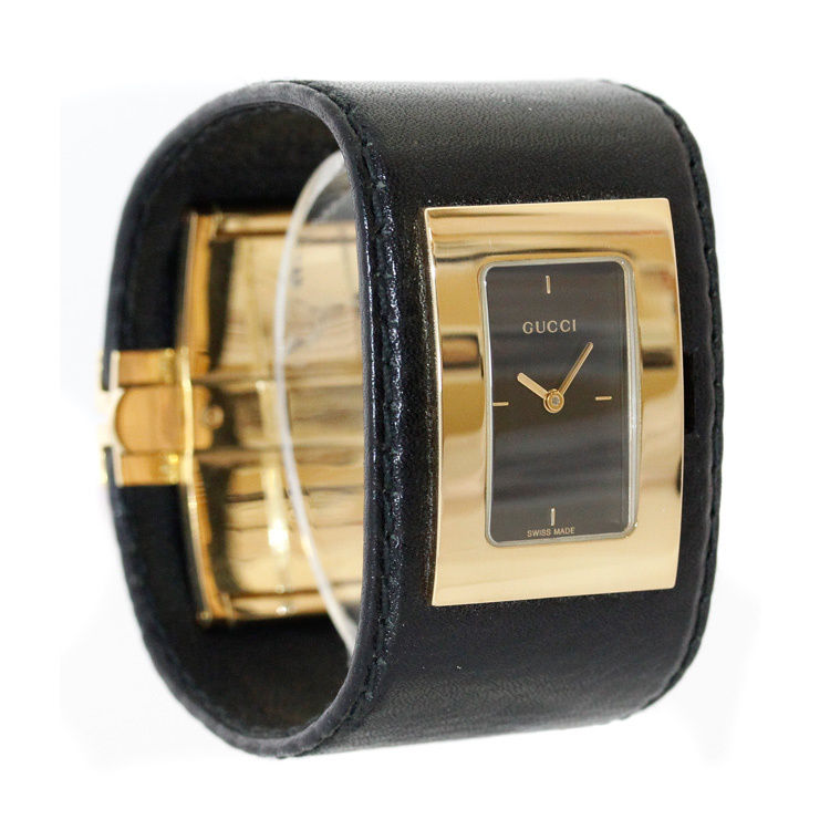 """Image of """"Gucci Ya078502 Gold Tone Stainless Steel Womens Watch"""""""