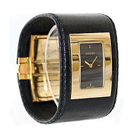 Gucci YA078502 Gold Tone Stainless Steel Womens Watch
