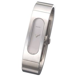 Gucci YA024603 Silver Dial Stainless Steel Watch