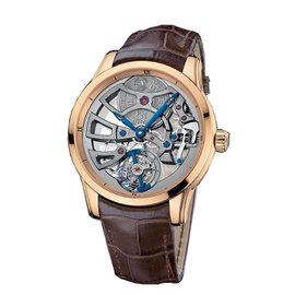 Ulysse Nardin Skeleton Tourbillon Manufacture Rose Gold 44mm Watch