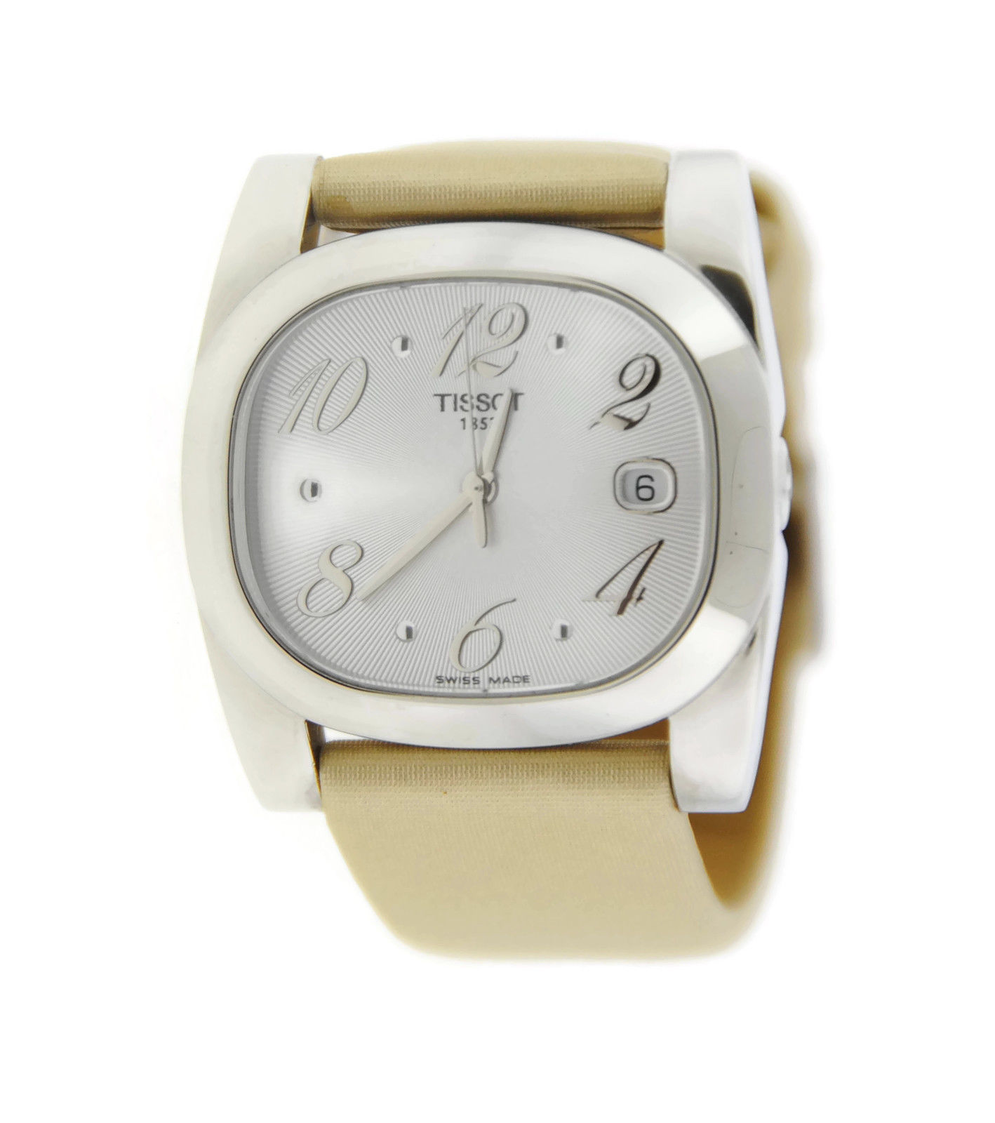 """Image of """"Tissot T93101703700 T-Wave Silver Dial Stainless Steel Watch"""""""
