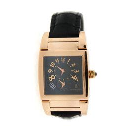 De Grisogono Instrumento Uno DF N/10A Dual Time 18K Rose Gold Unisex Watch
