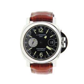 Panerai Luminor PAM88 GMT Automatic Stainless Steel Watch