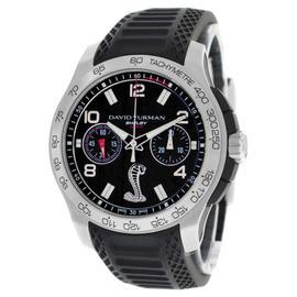 David Yurman Carroll Shelby Mustand 1000 Cobra T829-C Limited ED. Chrono Watch