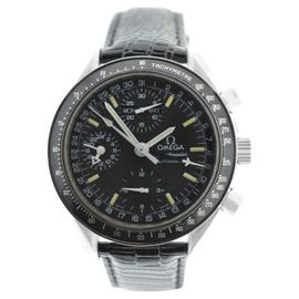 Omega Speedmaster Chronograph Date Stainless Steel Watch