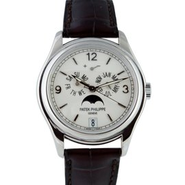 Patek Philippe 5146G 18K White Gold Annual Calendar Automatic Mens Watch
