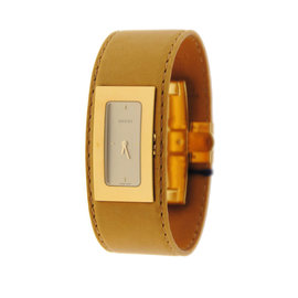 Gucci YA078610 7800M Gold Tone Stainless Steel Watch