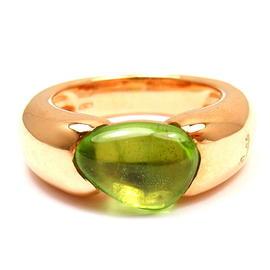 Pomellato Sassi 18K Rose Gold Peridot Ring