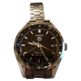 Tag Heuer Carrera WV2115 Two Time Mens Watch