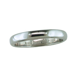 Tiffany & Co. Platinum Wedding/Anniversary Ring Band