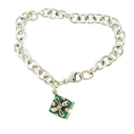 Tiffany & Co. Sterling Silver Blue Bracelet