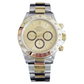 Rolex Daytona 16523 18K Yellow Gold & Stainless Steel 40mm Watch