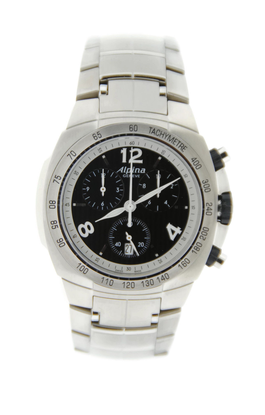 """Image of """"Alpina Avalanche Al350 Stainless Steel Quartz 42mm Mens Watch"""""""