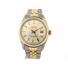 Rolex Datejust 1601 14K Yellow Gold & Stainless Steel 36mm Watch