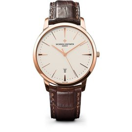 Vacheron Constantin 85180/000r-9248 18K Rose Gold Mens Watch