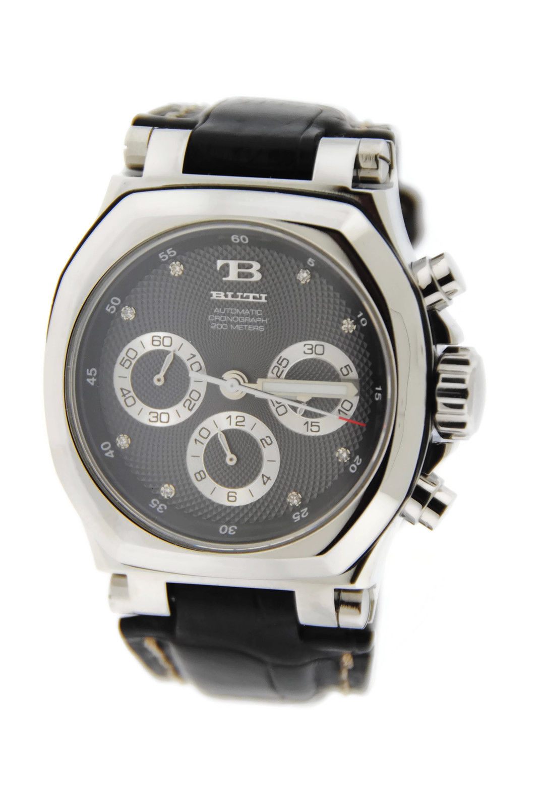 "Image of ""Buti Yanick II Chronograph Automatic Stainless Steel Mens Watch"""