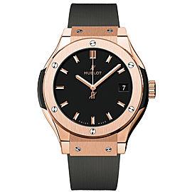 Hublot 581.ox.1181.rx Classic Fusion Quartz 18K Rose Gold 33mm Unisex Watch