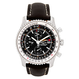 Breitling Navitimer A24322 Leather & Stainless Steel Mens Watch