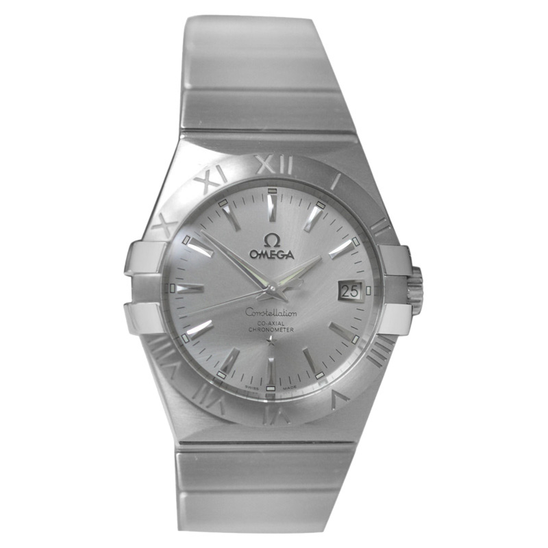 """Image of """"Omega Constellation 123.10.35.20.02.001 Steel Date Automatic Mens"""""""
