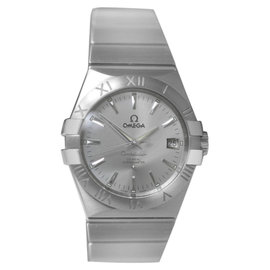Omega Constellation 123.10.35.20.02.001 Steel Date Automatic Mens Watch 35mm