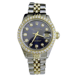 Rolex Datejust 14K Yellow Gold & Stainless Steel Womens Watch