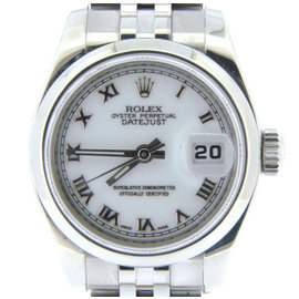 Rolex Datejust 179160 Stainless Steel Womens Watch