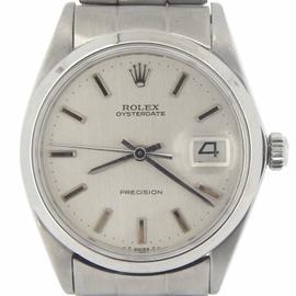 Rolex Oysterdate 6694 Stainless Steel Womens Watch