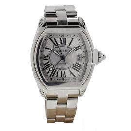 Cartier Roadster GMT XL Stainless Steel 48mm x 43 mm Watch