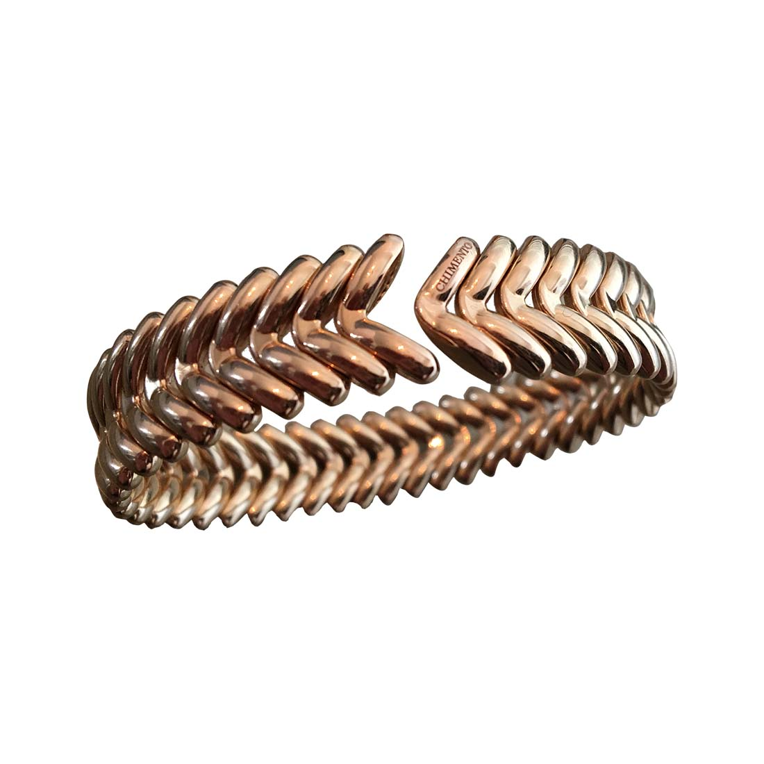 "Image of ""Chimento 18K Rose Gold Armillas Arrow Cuff Bracelet"""