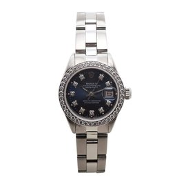 Rolex Datejust 6916 Oyster Perpetual Diamond Bezel & Hr. Marks 26mm Watch