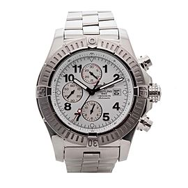 Breitling Super Avenger II A13370 Automatic Chronograph COSC 48mm Mens Watch