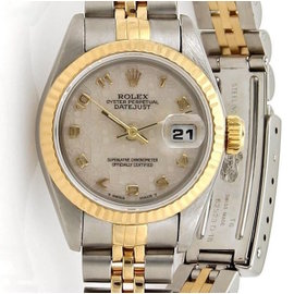 Rolex Datejust 69173 Oyster Stainless Steel and 18k Yellow Gold 26mm Watch