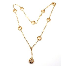 Cartier Pasha 18k Yellow Gold Vintage Necklace