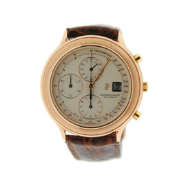 Audemars Piguet Huitieme 25644 Chronograph 18K Rose Gold 40mm Mens Watch
