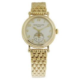 Patek Philippe 7121-1J-001 18K Yellow Gold Manual 33mm Womens Watch