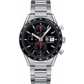 Tag Heuer Carrera CV201AK.BA0727 Stainless Steel Chronograph Tachymeter 41mm Watch