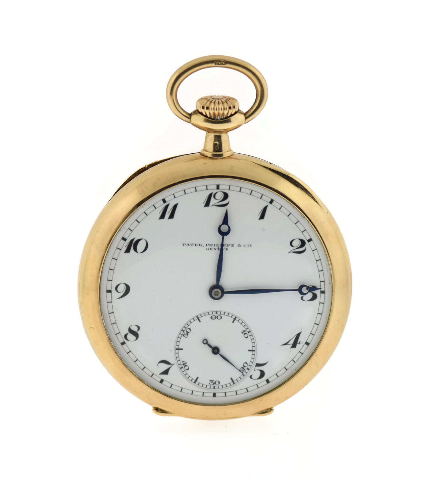 "Image of ""Patek Philippe 14K Yellow Gold 50mm Pocket Watch"""