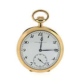 Patek Philippe 14K Yellow Gold 50mm Pocket Watch