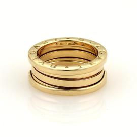 Bulgari 18K Yellow Gold B.Zero1 Band Ring Size 6