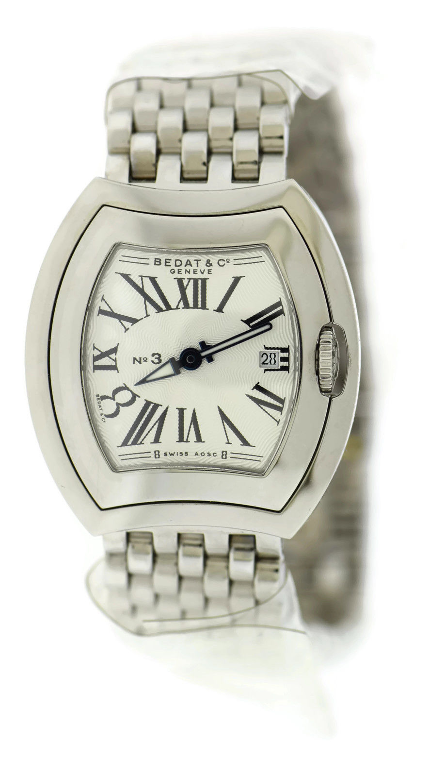 "Image of ""Bedat & Co. 334.011.101 No. 3 Stainless Steel Quartz 31mm Womens Watch"""